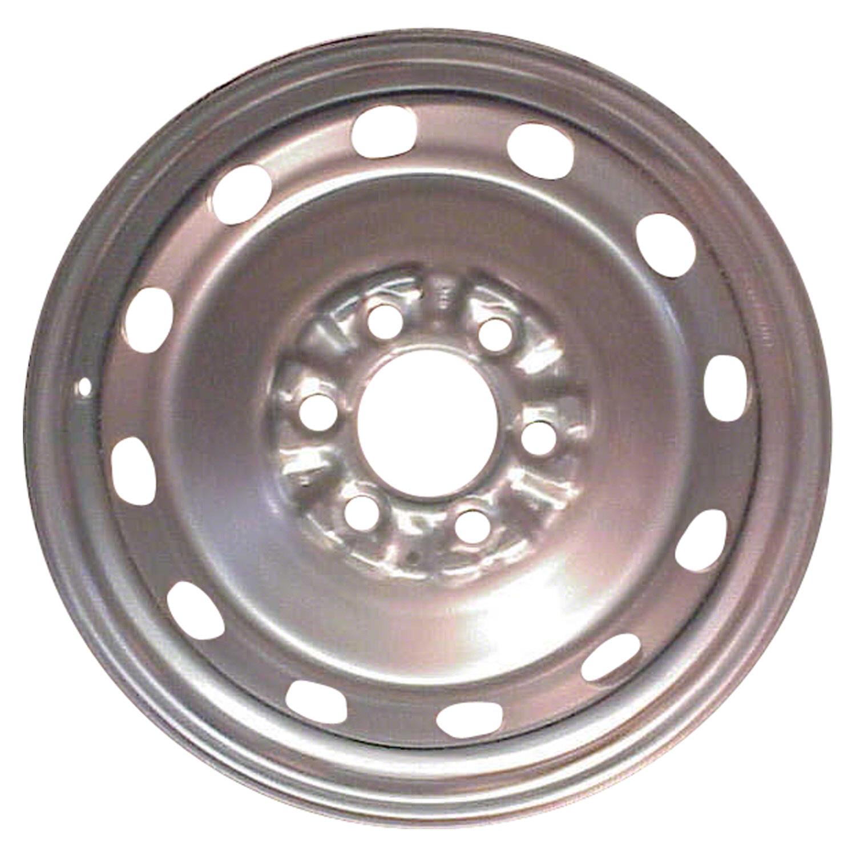 Used Steel Wheels : Oem used steel wheel rim flat black full face